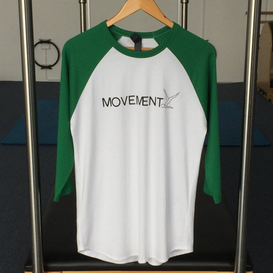 Movement Health raglan tee